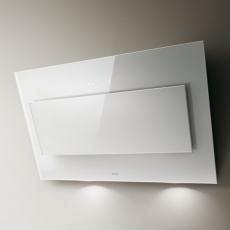 Okap VERTIGO WH/F/90 (białe szkło)